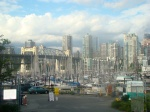 Went to get a discount mani/pedi in Kits, then walked to Fisherman's Wharf for some really good fish & chips.