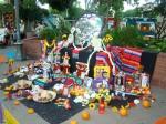 Mi favorito de todos los altares puestos a Olvera Street