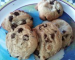 The BEST browned butter chocolate chip cookies.