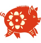 This Water Pig is happy to welcome the Year of the Rabbit! I killed a rabbit once. In New Mexico. Late night driving and singing along to Christina Aguilera. It came out of nowhere. I still think about it sometimes. Gung hay fat choy!