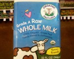 Drinking raw milk for my health
