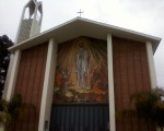 Walked to the Crenshaw Farmers' Market and got my first up close look at the Catholic church in my neighborhood. Fun fact: Confession is from 4:30-5p once a week. I don't know if that's normal. Maybe it's a way to subconsciously manipulate their parishioners into committing fewer sins.