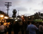 First Friday for the Vizzi truck. Madhouse.