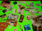 The result of Noreen's vision board party
