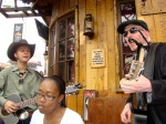 Serenade during brunch at Saddle Ranch