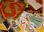 Leftovers from making the vision board