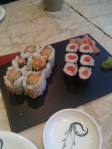 Spicy tuna roll & Salmon roll